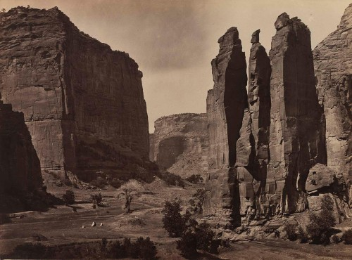 Timothy O'Sullivan Canyon de Chelly,1873