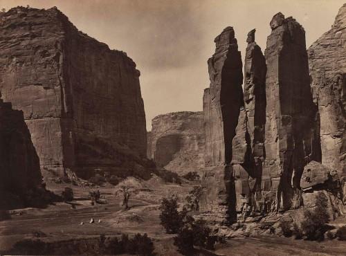 Timothy O'Sullivan Canyon de Chelly,1873
