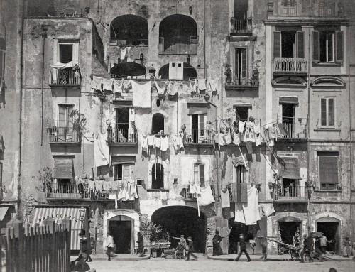 Giorgio Sommer Napoli,  inizi 1900