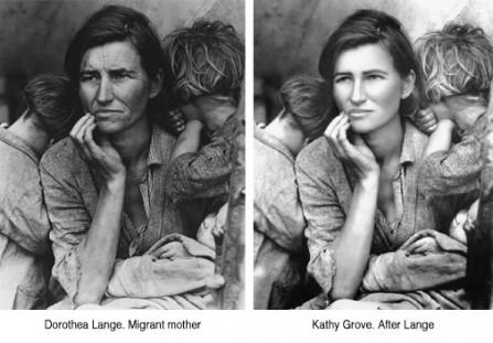 Dorothea Lange vs Kathy Grove