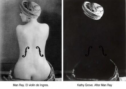 Kathy Grove vs Man Ray