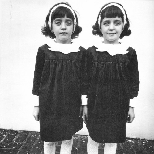 Identical Twins, Roselle, New Jersey, 1967.