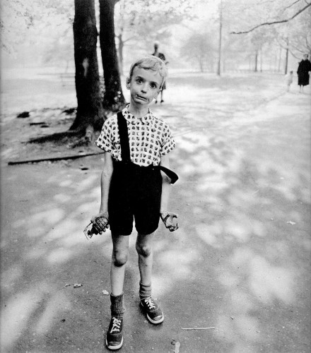 Child with Toy Hand Grenade in Central Park, New York City, 1962