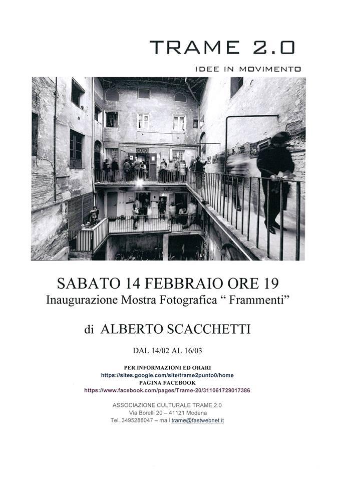 Alberto Scaccheeti. Frammenti