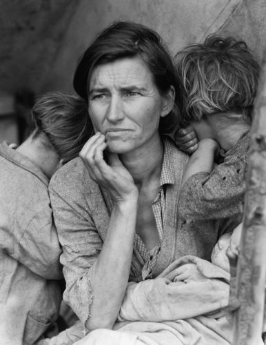 Migrant Mother, Nipomo, San Luis Obispo County, California,1936