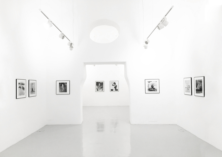 """Spazio espositivo """"Studio Trisorio"""", Napoli- La mostra A Visual Life. Installation view"""