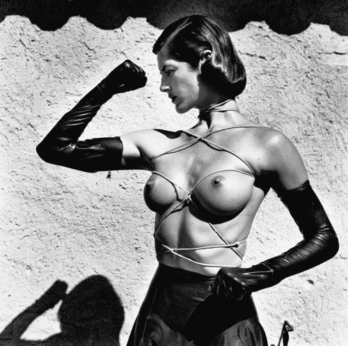Tied Up Torso, , Ramatuelle 1980 ©Helmut Newton Estate