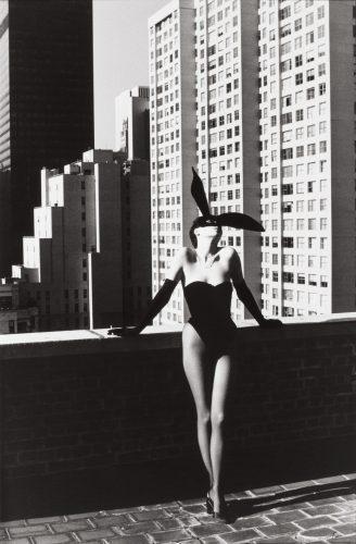Elsa Peretti in Halston Bunny Costume, New York, 1975 © Helmut Newton Estate