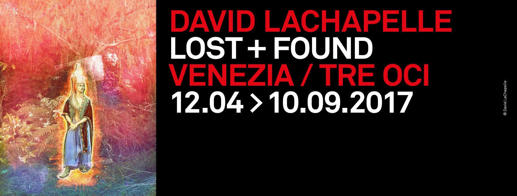 David LaChapelle a Venezia - Nella Gabbia Armonica - Locandina